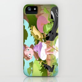 Break at the Creek iPhone Case