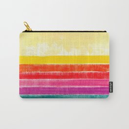 Abstract rainbow pattern in acrylic Carry-All Pouch