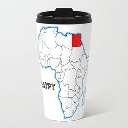 Egypt Map Travel Mug