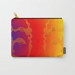 Buddha Head Rainbow I Carry-All Pouch