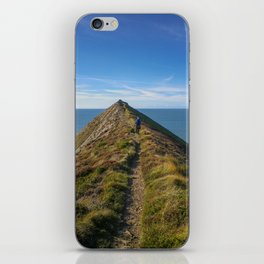 HIGHER SHARPNOSE POINT MORWENSTOW CORNWALL iPhone Skin