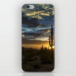 Southwest Style Sunset Skies iPhone Skin