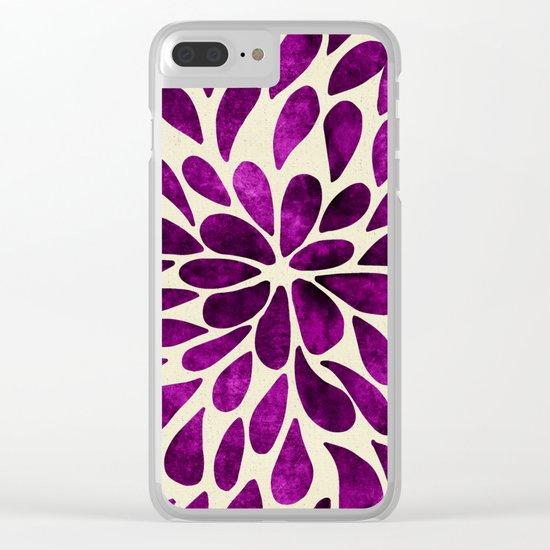 Petal Burst #21 Clear iPhone Case