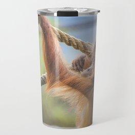 Orangutan baby Travel Mug