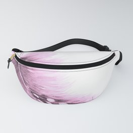 Pink feather painting Fanny Pack