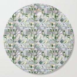 green_pattern Cutting Board