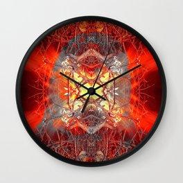 Spontaneous human combustion Wall Clock