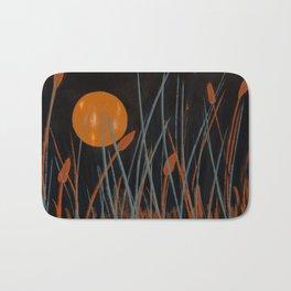 Autumn Moon #Original Art Bath Mat