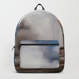 Geyser Starting to Blow Backpack