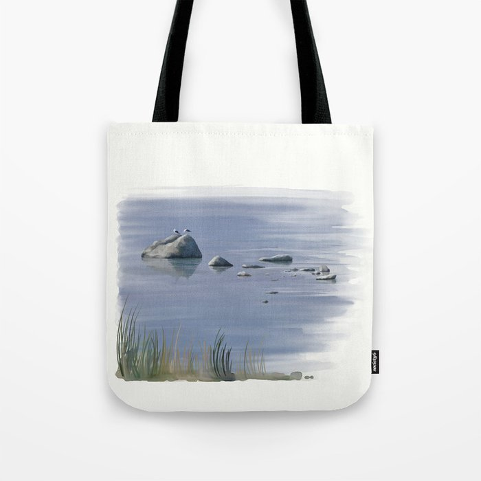 Seagull Siesta Tote Bag