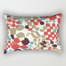 Warp Rectangular Pillow