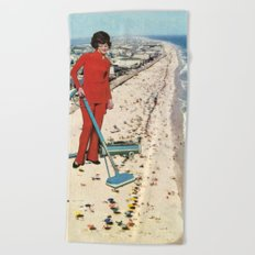 Dry Cleaning Beach Towel