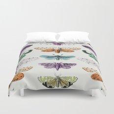Techno-Moth Collection Duvet Cover