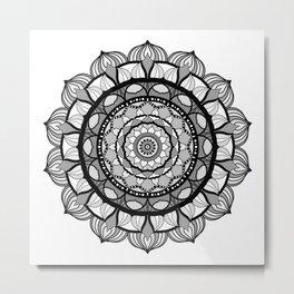 Mandalart Metal Print