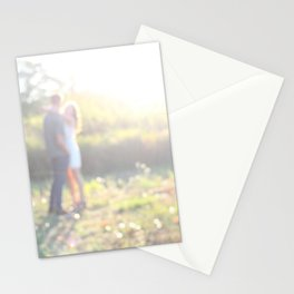 couple love Stationery Cards