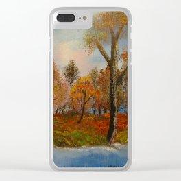 Autumnal Augur Clear iPhone Case