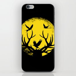 Nature in the moonlight iPhone Skin