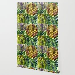 exotic palms abstract Wallpaper
