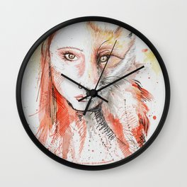 Vixen Wall Clock