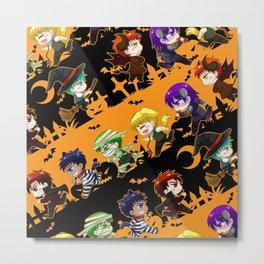 Kurobasu Halloween Metal Print