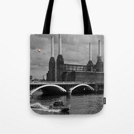Pink Floyd Pig Tote Bag