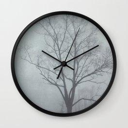 The Fog  Wall Clock