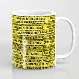 Crime scene / 3D render of endless crime scene tape Coffee Mug