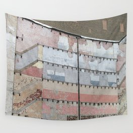 Architectural Detail Wall, Salvage, Old building, Chicago Wall Tapestry