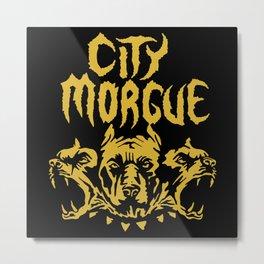 city morgue Metal Print