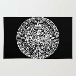 Mayan Calendar Rug