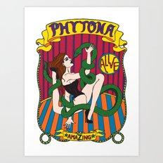Phytona Art Print