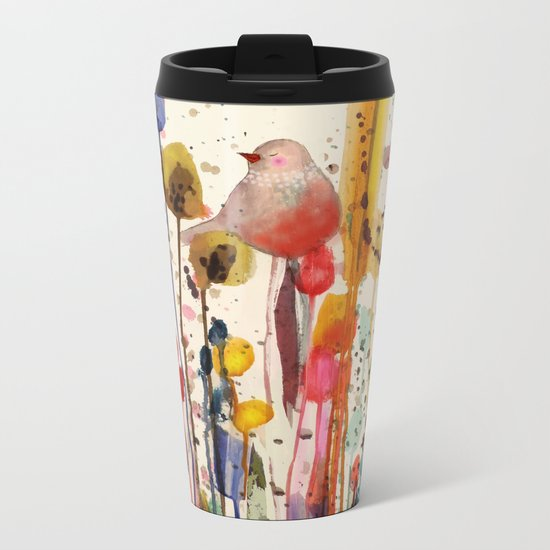 ce doux matin Metal Travel Mug