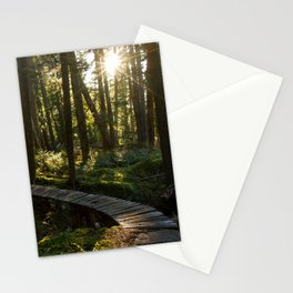 North Shore Trails in the Woods Stationery Cards