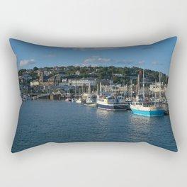 Torquay Harbour Rectangular Pillow