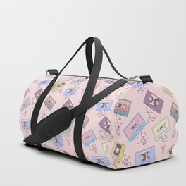 Cassette Pattern Duffle Bag