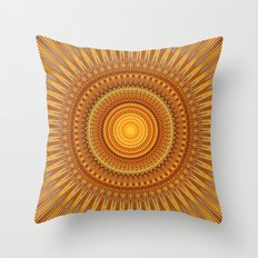 Sunny Boy Throw Pillow