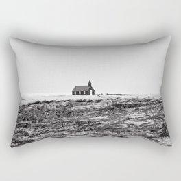 Black and White Photograph - Travel photography Rectangular Pillow