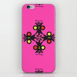 Cayni Desing Pink iPhone Skin