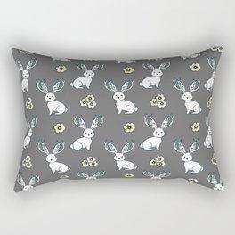 Jackelope of all Trades Pattern Rectangular Pillow