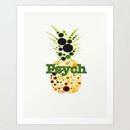 Pineapple Anyone? Art Print