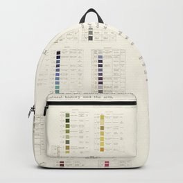 Werner's nomenclature of colour Backpack