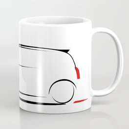 Clio silhouette Coffee Mug
