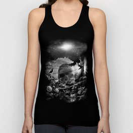 XIII. Death & Rebirth Tarot Card Illustration (Alternative Version) Unisex Tank Top