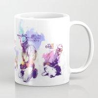 new order Mugs featuring NEW ORDER by Ƃuıuǝddɐɥ-sı-plɹoʍ-ɹǝɥʇouɐ