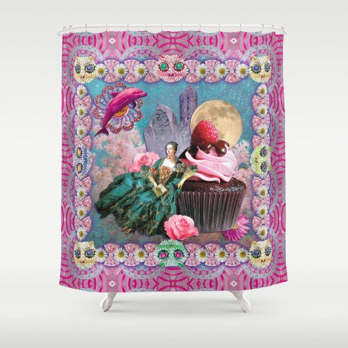 magical crystal dreamland  Shower Curtain