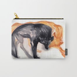 Two Wolves Carry-All Pouch