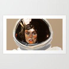 E. Ripley Art Print
