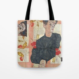 Persian mix: Egon Schiele Tote Bag