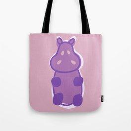 Gummy Hippo - Purple Tote Bag