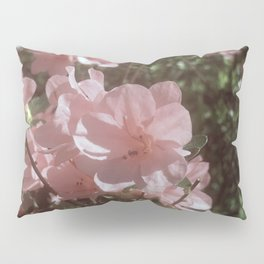 Happy Little Pink Flowers Pillow Sham